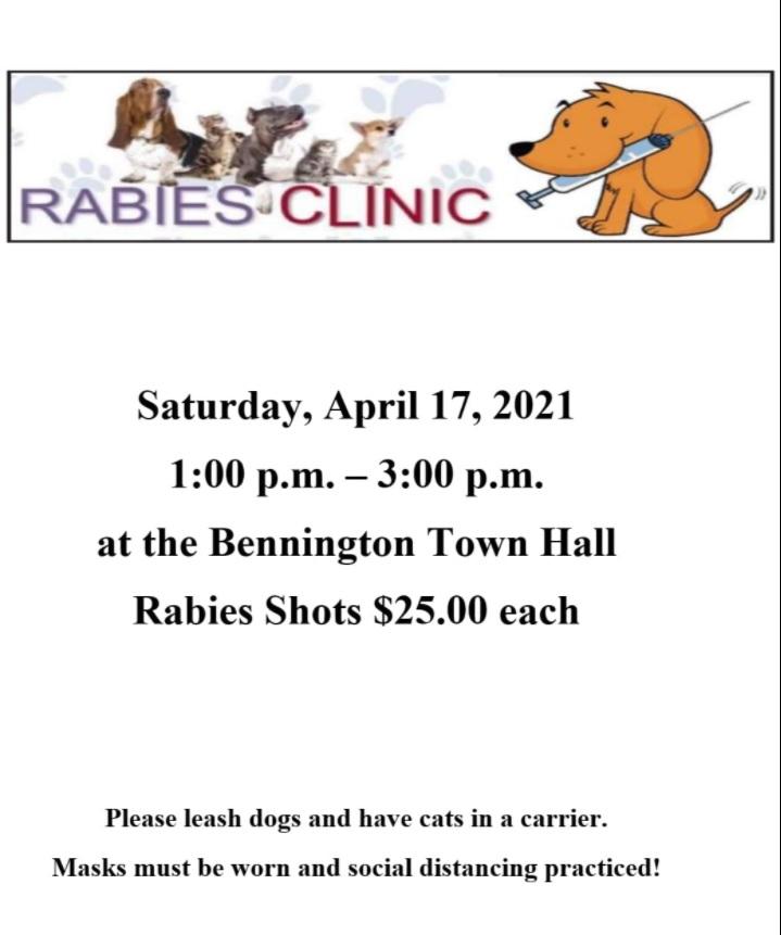 rabies clinic 2021