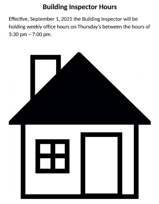building inspector hours